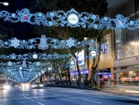 新加坡乌节圣诞大街欢_海鸥自由行