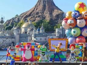 """东京迪士尼海洋公园—特别活动""""皮克斯游戏时间""""_东京旅游_日本自由行"""