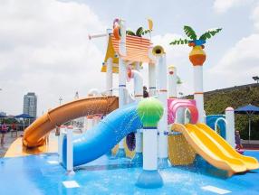新加坡太热,免费水上乐园等你来_新加坡旅游_新加坡自由行