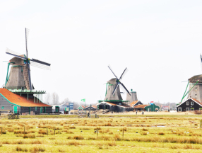 荷兰旅游必须体验的几个项目,马德罗丹小人国,风车,郁金香花海,梵高等