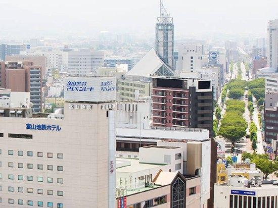 日本富山地铁酒店