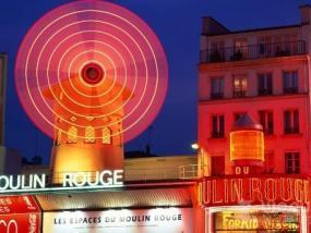 巴黎红磨坊演出(含香槟)