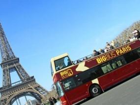巴黎随上随下大巴士观光之旅