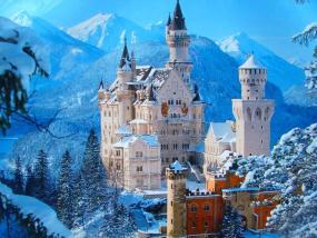 德国新天鹅堡+林德霍夫宫+上阿默高童话王国一日游