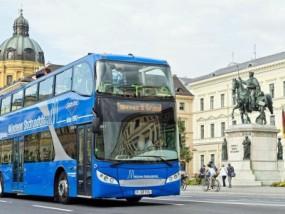 德国慕尼黑随上随下巴士观光