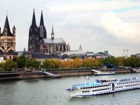 德国科隆观光游船之旅