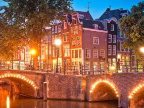 阿姆斯特丹浪漫巡游之旅(含鸡尾酒)