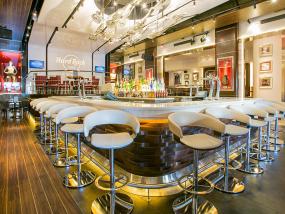 巴塞罗那摇滚主题餐厅