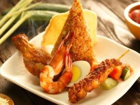 曼谷拜约克摩天塔国际自助餐