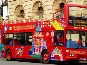 牛津随上随下城市旅游观光巴士