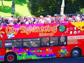 爱丁堡随上随下城市旅游观光巴士(含中文讲解)