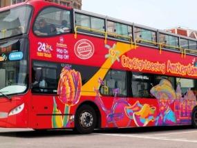 阿姆斯特丹随上随下观光巴士车票