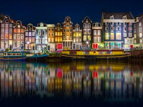阿姆斯特丹运河烛光巡游之旅