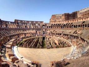 古罗马斗兽场全景之旅(含地下室、竞技场和观景台门票)