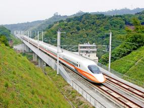 台北至台南双向高铁乘车券