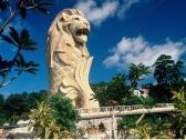 新加坡圣淘沙鱼尾狮塔