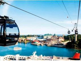 新加坡圣淘沙双程缆车(花柏山线+圣淘沙线)