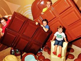 菲利普岛迷宫乐园+Pannys巧克力奇妙世界(含错觉房间)