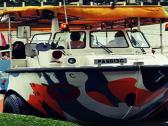 新加坡鸭子船船长探索号水陆两栖观光船