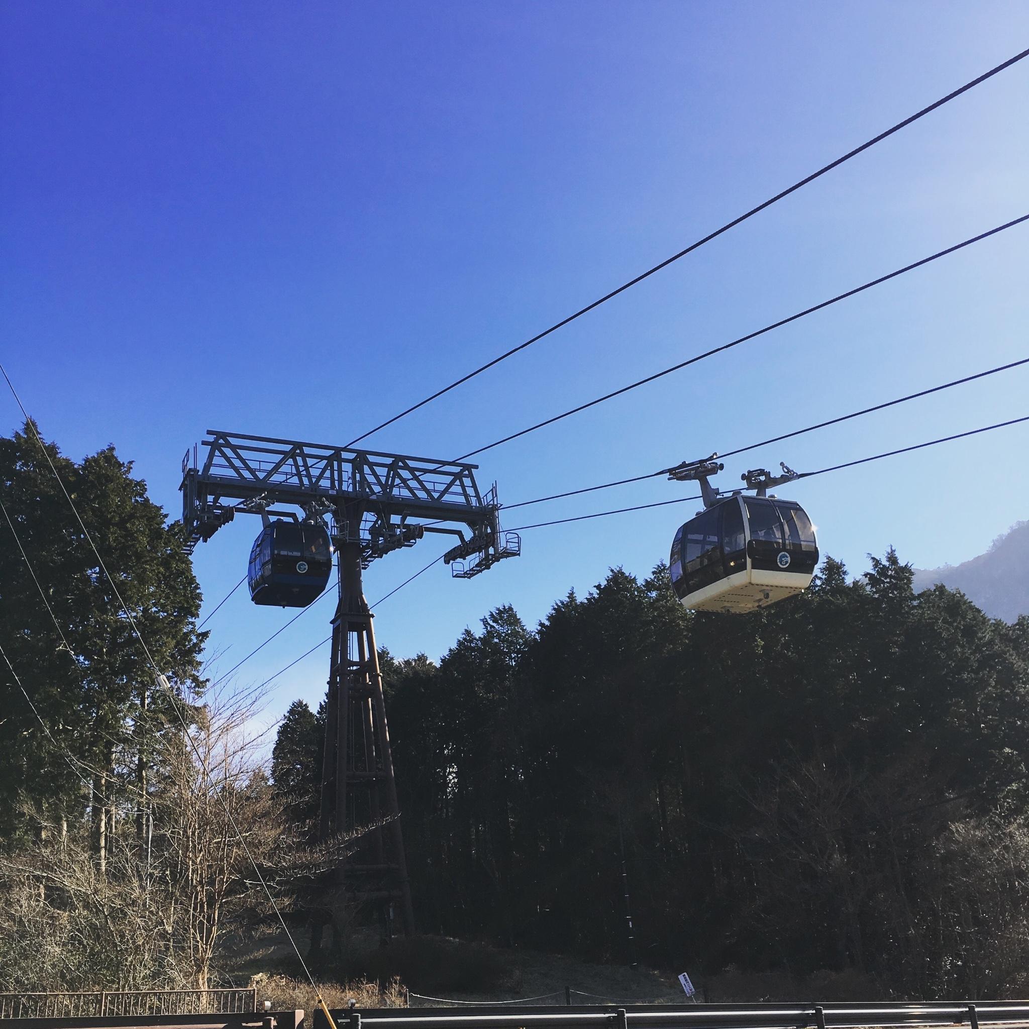 箱根驹之岳空中缆车