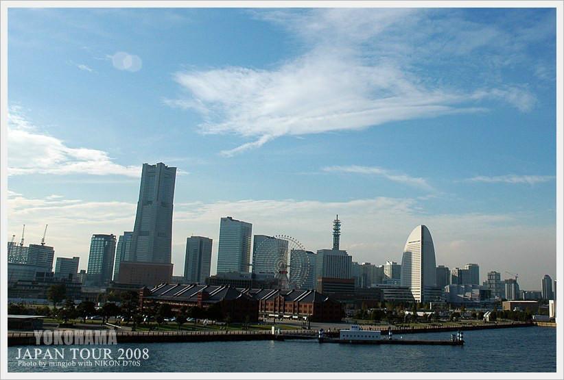 横滨港未来21