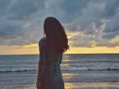 在丹绒亚路海滩,独自拍照攻略