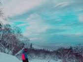 北海道的滑雪体验