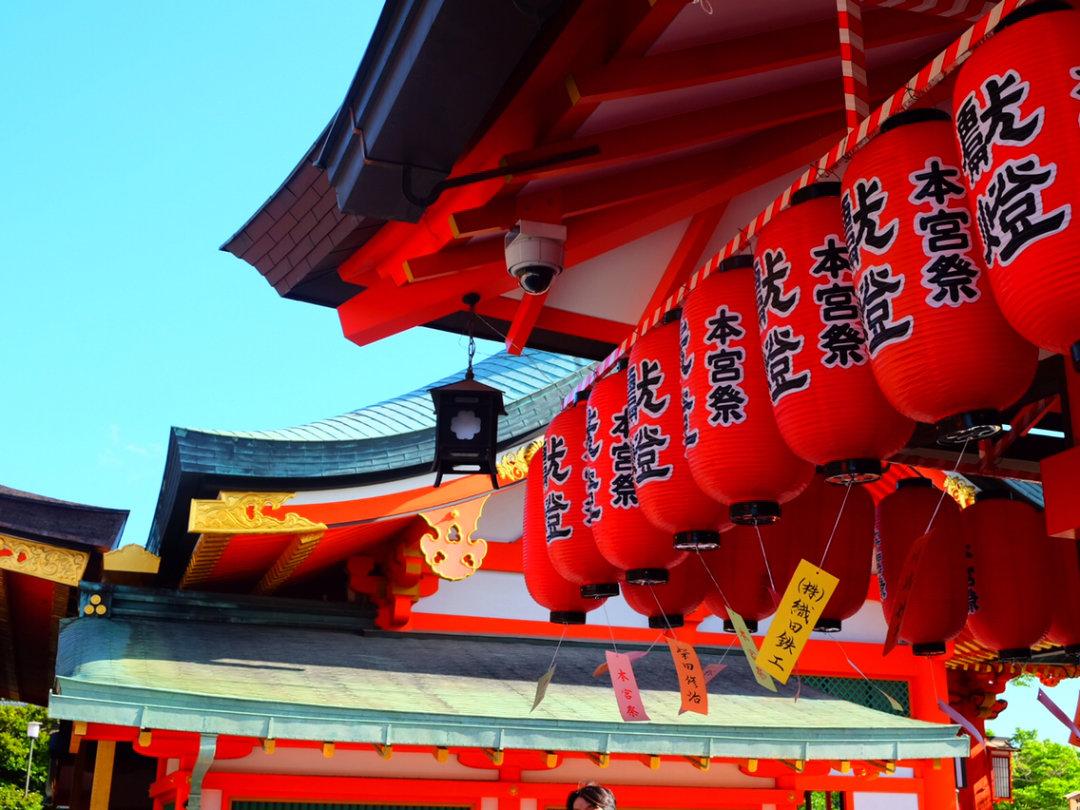 日本神社参拜流程